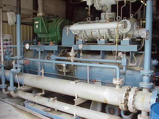 Cryogenic Test Facility (CTF) Commission date: 1989 Main compressors: (3) 250 kw Mycom compound screw compressors Control