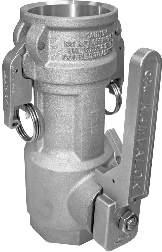 KAMVALOK SERIES 1700DL Series Couplers OPW Kamvalok Dry Disconnect Couplings are considered the standard of the industry.