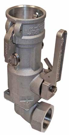 KAMVALOK SERIES 1700ESL Kamvalok Coupler OPW Transport Series Dry Disconnect Couplings are considered the standard of the industry.