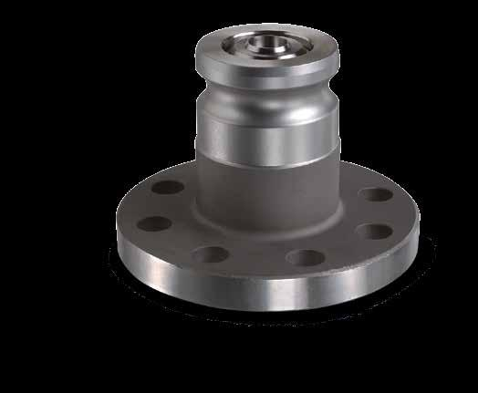 KAMVALOK SERIES 1600ANF The OPW 1600ANF Series Adaptors are designed specifically for applications using an ANSI flange.