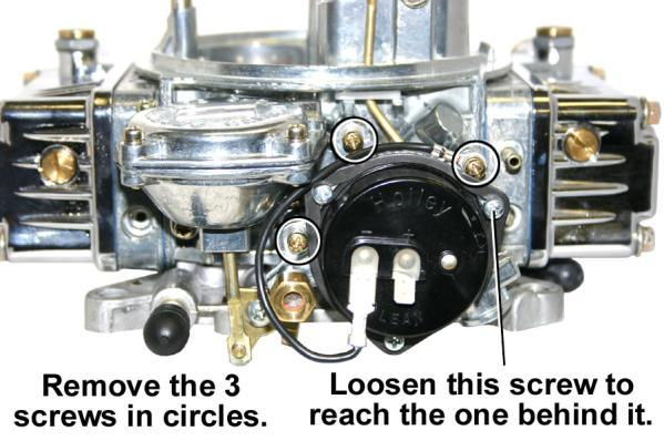 VACUUM OPERATED SECONDARY THROTTLES: Many people have the misconception that opening the secondary throttles sooner will provide increased performance and quicker drag strip times.