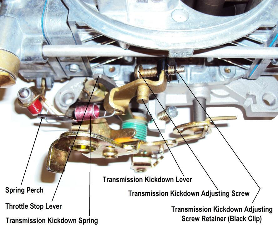 FORD APPLICATIONS: WARNING: This carburetor is not designed for use with any Ford automatic overdrive transmission. SEVERE transmission damage may result from improper application use.