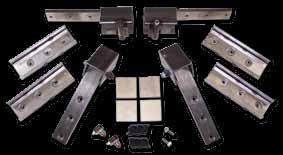 Kits cme cmplete with recesse flating nut plate fr the rs an hien switches fr me lights, etc. The separate hinges ffers the installer flexibilit in lcating them in each particular vehicle.