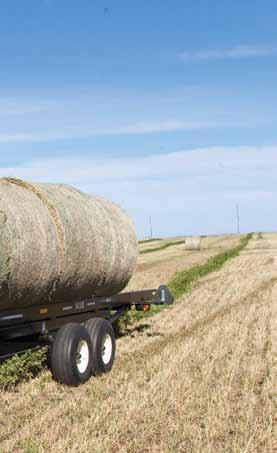load and unload bales quickly and without damage.
