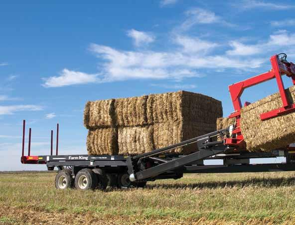 if the pusher senses resistance from a heavier-than average bale during regular operation, it automatically shifts to low for five seconds to provide more power to push the bale.