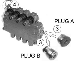 hydraulic systems. The hydraulic valve is set up to this specification when leaving the factory.