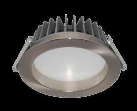 WH FIXED RND D/L DIMM 5000K 5000 1000 13 82 90 0 IP54 YES Ø125 Ø115 62 1/24 GAL172,173 RECOMMENDED DIMMERS BRAND MIN/MAX FITTINGS PER DIMMERS HPM LEGRAND