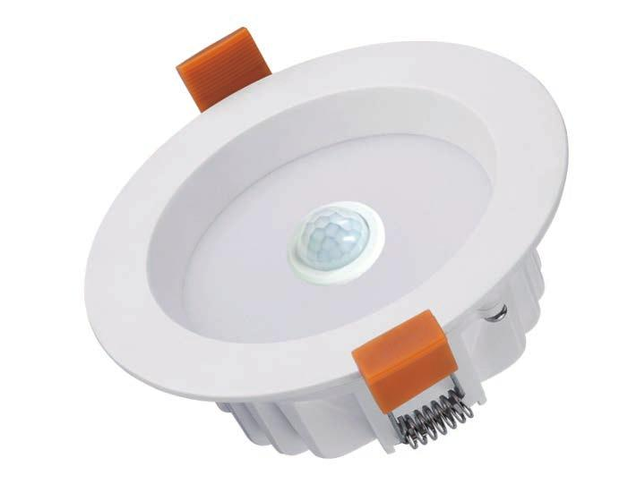 85 Material: aluminium & PC Not suitable for 2-way switching PIR sensor type Sensor distance: 5-7m Time delay 90 seconds Detection range: <140 0