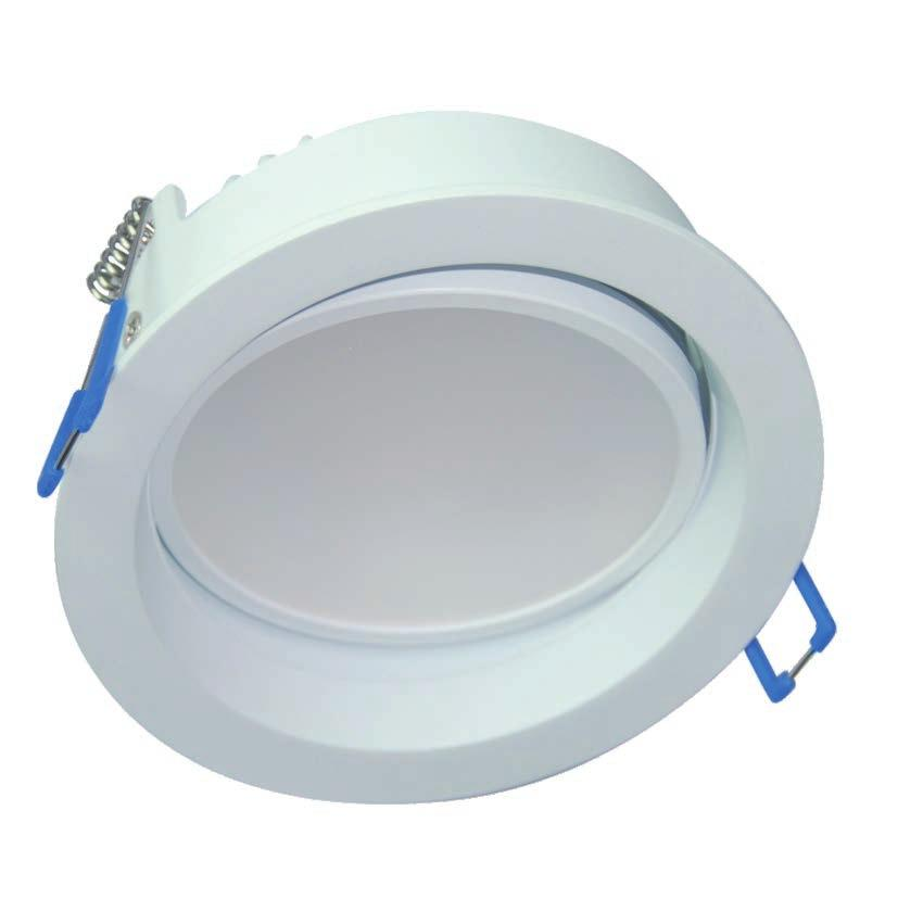 19 DOWNLIGHTS - dedicated LED dimmable Recommended dimmers: BRAND CODE Min/Max fittings per dimmer HPM Legrand CAT400P 2-8pcs Clipsal 32E450UDM 2-8pcs Clipsal 32E450TM 2-8pcs CLA LYNX 2-8pcs 44
