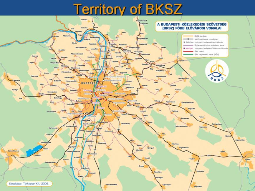 Presentation of the situation in Budapest (BKSZ) On behalf of the partner organisation BKSZ, Dr. Zsolt Denke economic director presented the company.