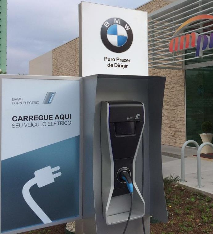 BMW pays for installation and parking spot