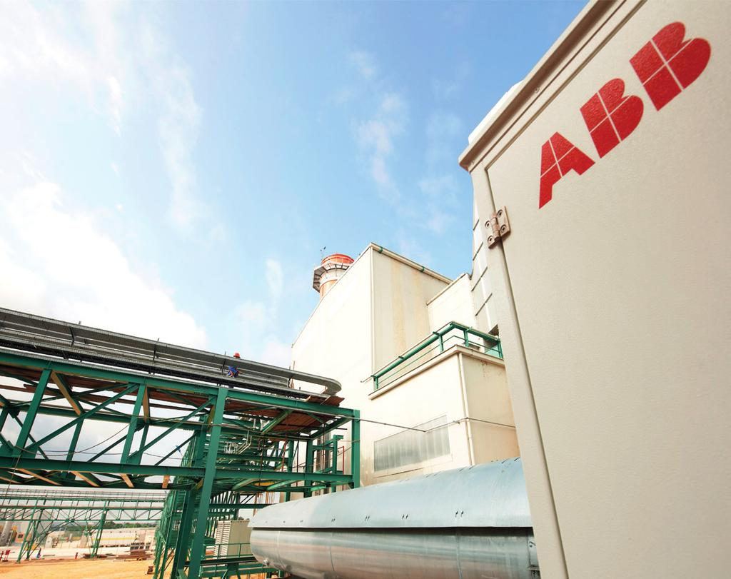 Customer case: About ABB ABB is a leader in power and automation technologies that enable utility, industry, and transport- and infrastructure
