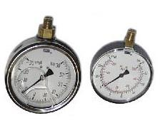 Page 3 GAUGES STAINLESS STEEL CASES BRASS & COPPER ALLOY WETTED PARTS GLYCERIN FILLED ACCURATE TO ± 1.