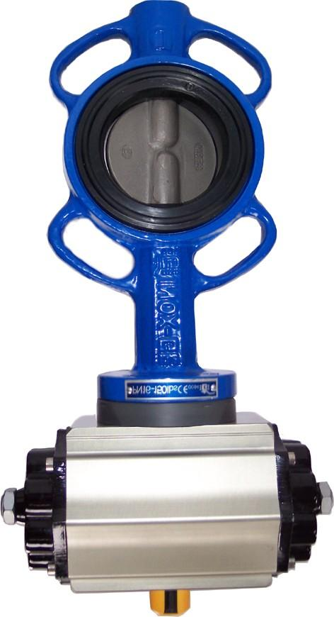 Page 7 AIR ACTUATED VALVES BUTTERFLY VALVES BALL VALVES DOUBLE ACTING SPRING RETURN 1.