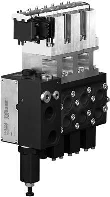 Directley mounted CAN-controls for proportional directional spool valves type PSL/PSV (valve bank design) acc. to D 7700-2, D 7700-3 Main parameter Nomenclature: Design: Oper.