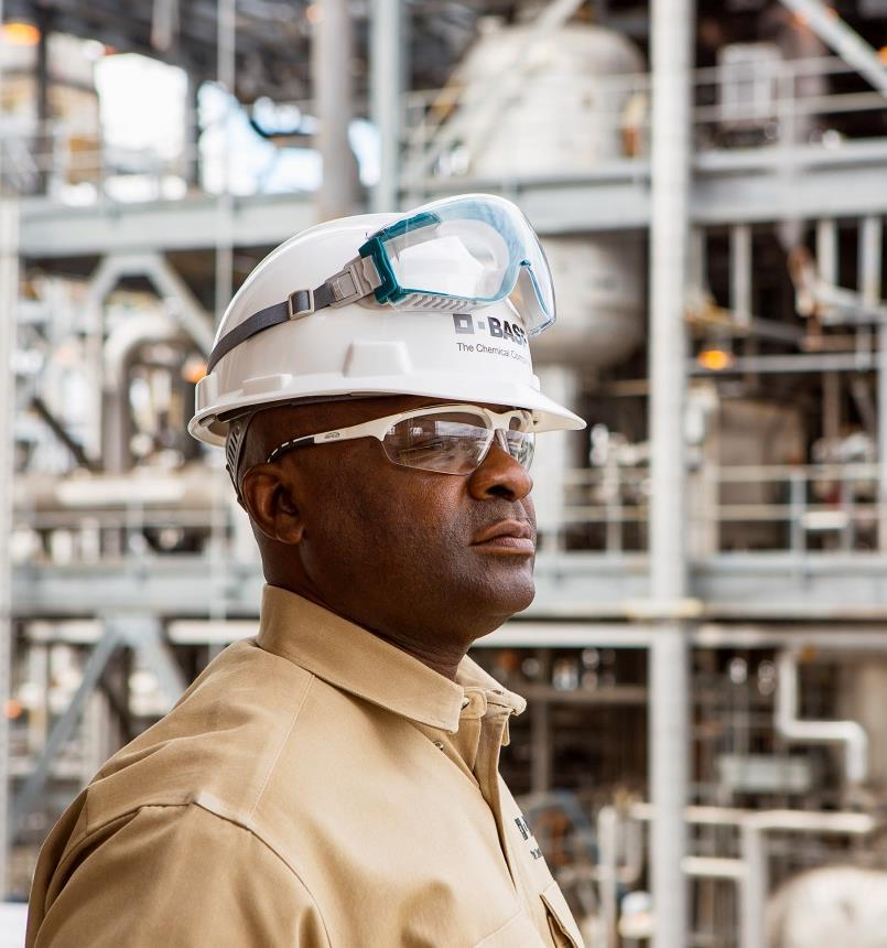 Introducing BASF Company Overview Our chemistry is used in almost all industries We combine economic success, social