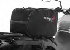 21 litre 055-1247 Tail Rack Bag PILLION SEAT Kawasaki Versys 1000 This tail bag can be secured either on the rear seat or the luggage rack, which is located under the rear seat.