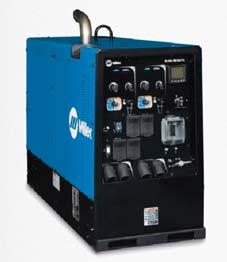 For Every Job, There s a Miller Welder/Generator to Get the Job Done Right Selecting the right size of welder/generator helps maximize your resource effi ciency and reduce your emissions footprint.