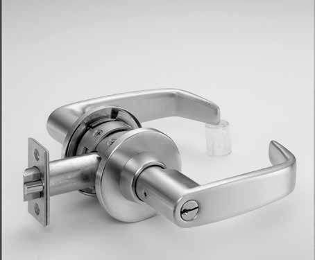 Key-In-Knob/Lever Cylinders Key-In-Knob/Lever Cylinders Many designs and functions in the 8, 9, 10 and T-Zone (11 Line) can be furnished with SARGENT Keso F1.