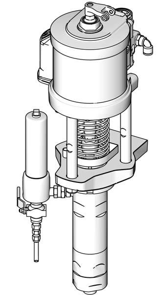 Setup Resin Pump and Optional Heater Connections Catalyst Pump Fluid Connections NOTE: See FIG. 3 on page 16. 11.