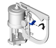 FIG. 11 FIG. 14 6. Turn catalyst pump pressure relief/recirculation valve to the pressure relief position.