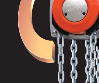 Its patented hand chain cover rotates a full 360 to allow for pulling and lifting