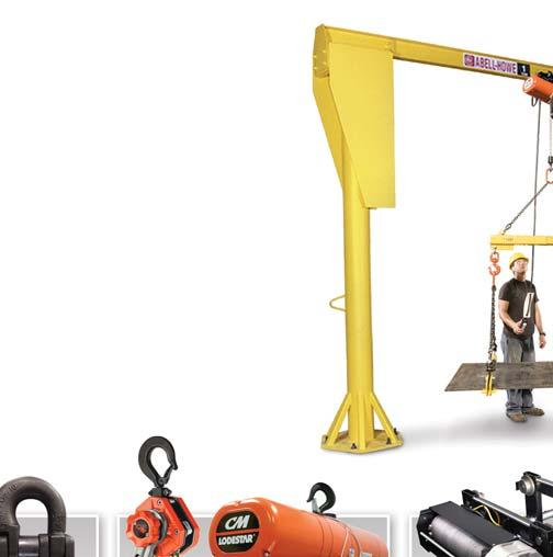 From below-the-hook attachments, chain, rigging products, manual and powered chain hoists to electric wire rope hoists, cranes, enclosed track systems and specially engineered products, Columbus