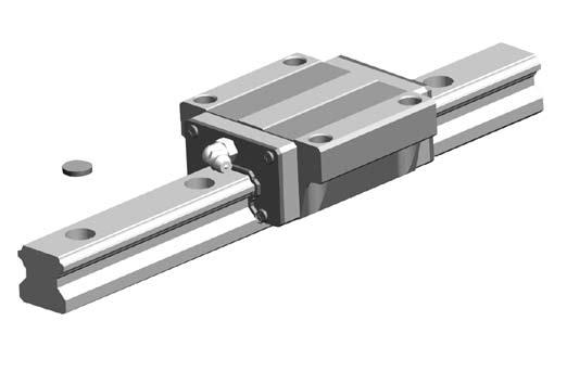 96 G99TE13-0809 Linear Guideways SE Type 2-7 SE Type - Metallic End Cap Linear Guideway 2-7-1 General Information (1) Features Use of Metallic parts; (if end seal is needed, the high-temperature