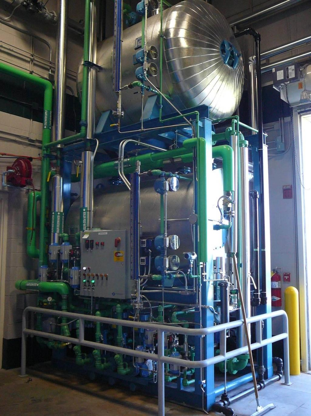 New feedwater system Feed