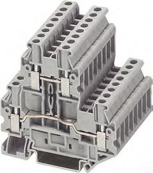 8WH1 Screw Terminals 8WH two-tier terminals Selection and ordering data Terminal size 2.5 mm² 8WH1 020-0AF00 Two-tier terminals, terminal size 2.5 mm² C U US s Terminal width 5.