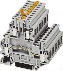 8WH1 Screw Terminals Overview Technical specifications 8WH two-tier terminals with isolating function/isolating blade Two-tier terminals with isolating function/isolating blade are also available