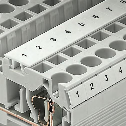 8WH2 Spring-Loaded Terminals General data on 8WH 4 The space-saving design and conductor routing from above make spring-loaded terminals ideal for controlgear installations with minimum available
