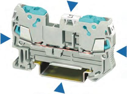 8WH3 Insulation Displacement Terminals Introduction 6 Conductor connections from 0.25 to 2.