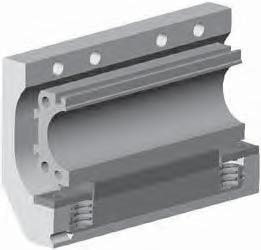 Accessories Active rake (asic Cylinder) Cylinder barrel A25 to 80 for basic cylinder Features Actuated by pressurization Released by spring actuation Holds position, even under changing load