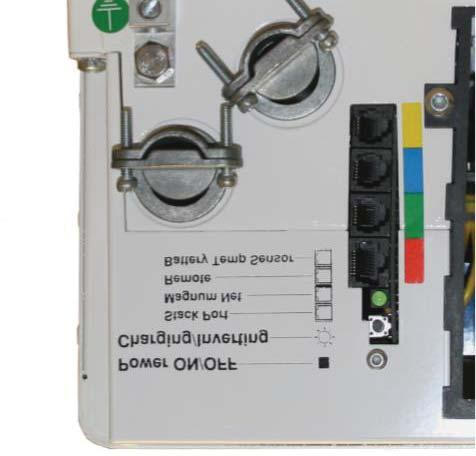 Operation 3.5 Inverter Start-Up /OFF Switch: The inverter can be turned on and off by lightly pressing and releasing the Power /OFF switch on the front of the inverter (refer to Figure 3-5).