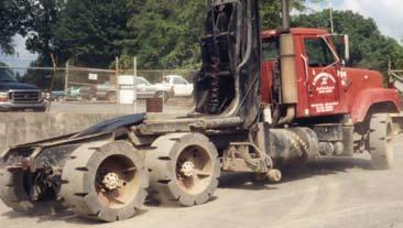 Built to replace Budd or Dayton style wheels, haul truck tires