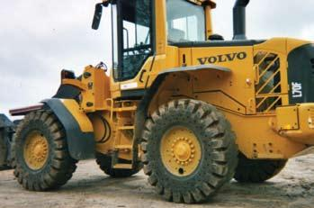 SETCO solid tires for loaders are