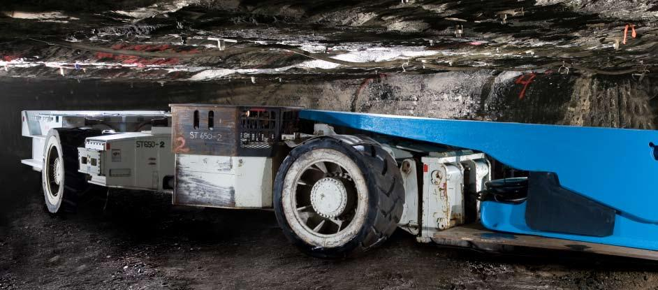 Mining SETCO has the flexibility to custom manufacture solid tires to haul the