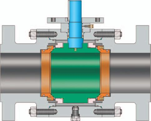 VELAN TRUNNION-MOUNTED Velan s standard trunnion-mounted ball valves offer increased value by incorporating advanced design features.