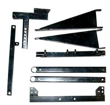 .1 D Platform Arms 2 E Outrigger Support.1 F D Outrigger Assemblies.2 G E E G F Not Shown on this page (See Parts Diagram): Hardware, CTN.