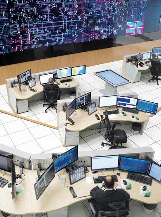 Power transmission, power distribution and smart grid Monitoring the Brazilian grid One of Brazil s four regional control centers is located in Rio de Janeiro.