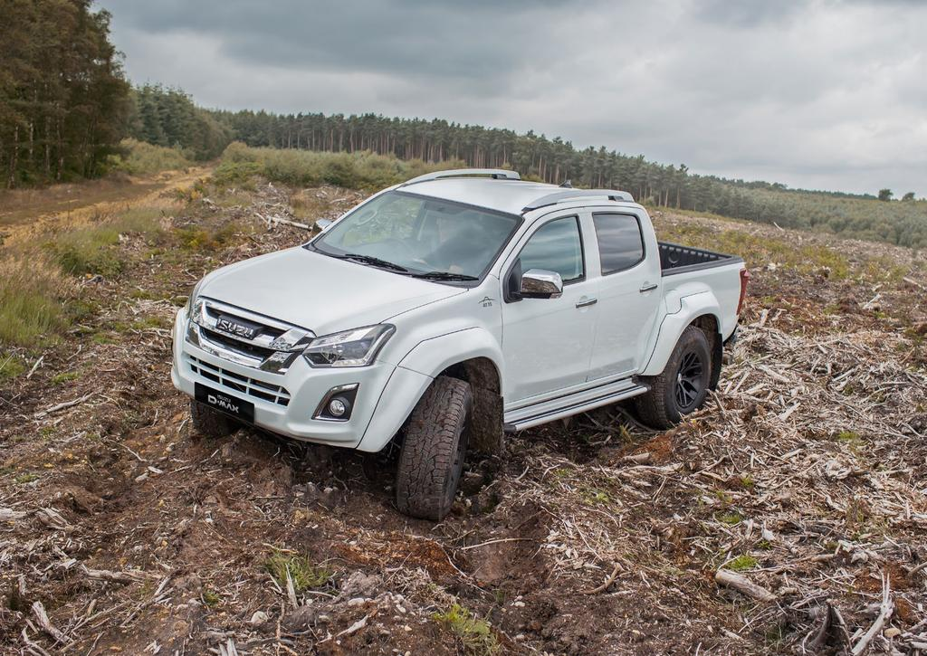 ISUZU AND ARCTIC TRUCKS THE PERFECT PARTNERS Arctic Trucks have over