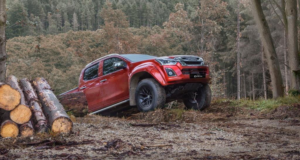 BUILT FOR THE TOUGHEST TERRAINS The Isuzu D-Max Arctic Trucks AT35 comes with the following specification: EXTERIOR LED Daytime Running Lights Extended Profile Side Steps Arctic Trucks Chrome Badge &