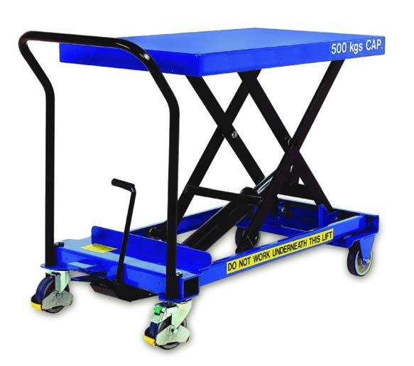 INSTRUCTION MANUAL FOR PREMIUM SCISSOR LIFT CARTS MODELS COVERED: CART-300-S-FR, CART-300-D-FR, CART-600-S-FR, CART-600-D-FR,