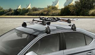 2 snowboards (000 071 129H) With the simple addition of the basic roof rack, your Superb suddenly