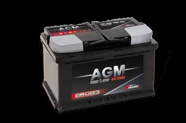 11 12V 230Ah 1350A 517 x 275 x 239 +LK B0 3 1 F 56,60 18 XTREME starting battery with AGM Technology The AGM battery is a starting battery with the characteristics of a semi-traction battery, but