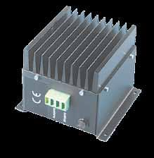 Type Tipo dc-dc converters DC-DC converters - a light diode indicates if it s running - short circuit proof - total isolation between in- and output - connection for the in- and output - easy to