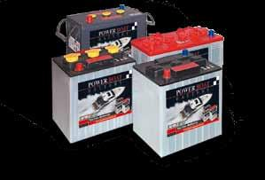 marine catalogue All the selected batteries are developed for cyclical applications ( = charging & discharging) Open lead-acid batteries Semi-traction batteries: Open lead-acid batteries, flat