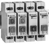 Multi 9 Miniature Circuit Breakers IEC Rated Multi 9 BP Push Button Type Width in 9mm modules Power Color BP Circuit Cat. No. List Price Single BP 2 Grey 1 NC 18030 $ 33.60 Red 1 NC 18031 33.