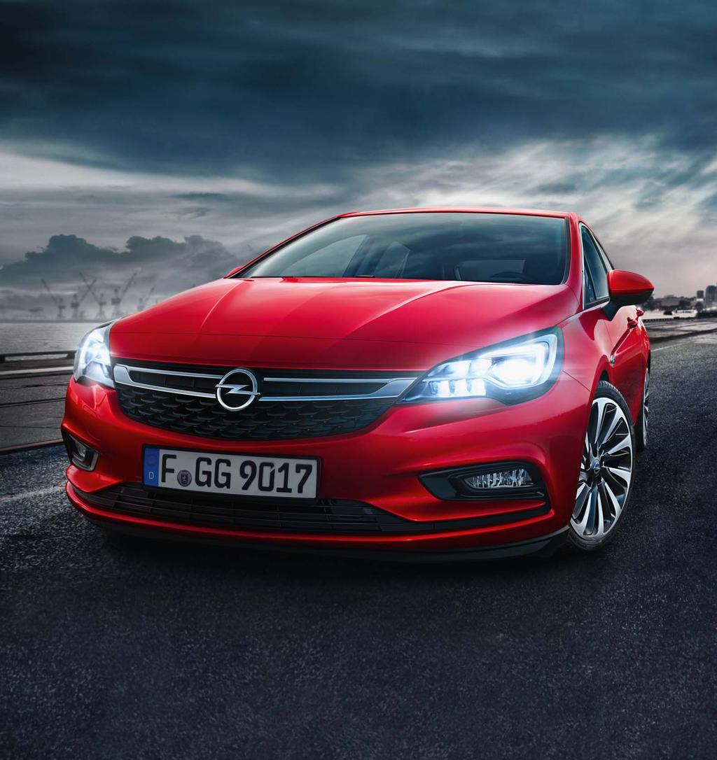 Product Information OPEL ASTRA K